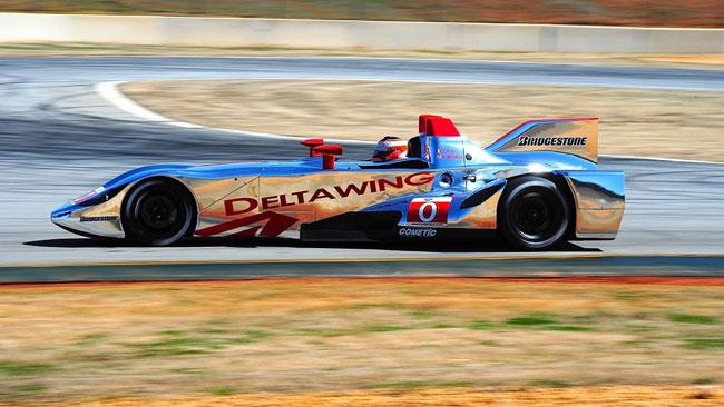 Primo test con il motore Mazda per la DeltaWing