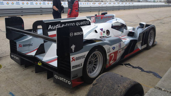 Sebring, Day 1: di Grassi porta l'Audi in vetta