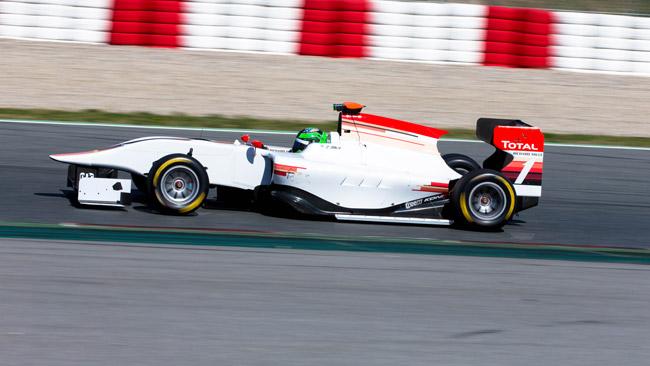 Barcellona, Day 1: Conor Daly vola con la vettura 2013