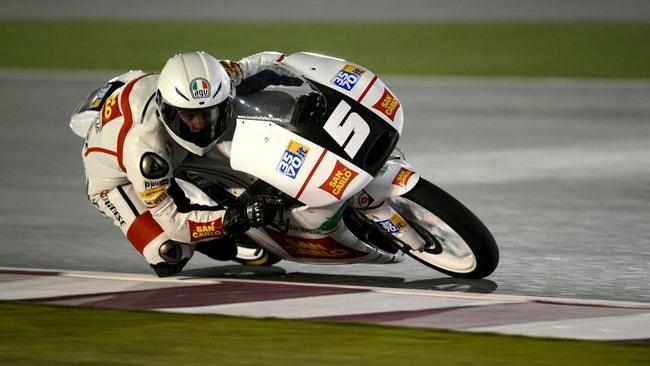 Inizio in salita per il Team Italia in Qatar
