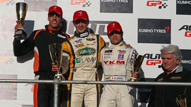 Sergio Campana domina gara 1 a Marrakech