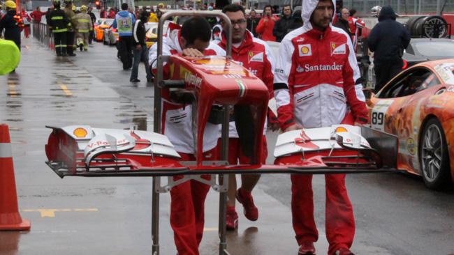 Ecco la nuova ala flessibile della Ferrari F138