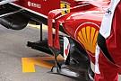 Alonso con i deviatori di flusso a ponte sulla F138