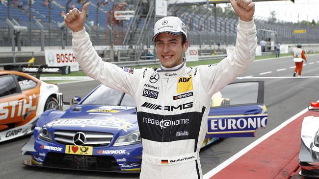 Prima pole per Christian Vietoris al Lausitzring