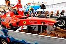 Kamui Kobayashi distrugge una F60 a Mosca
