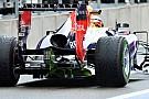 La Red Bull ha cambiato il diffusore posteriore
