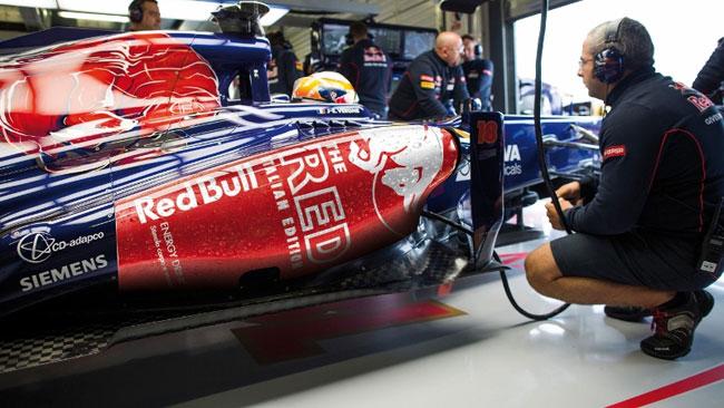 La Toro Rosso cambia look per il weekend di Monza