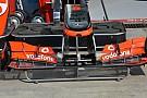 Sull'ala anteriore McLaren c'è un doppio predellino