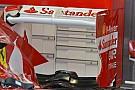 Alonso con più incidenza di Massa nell'ala posteriore