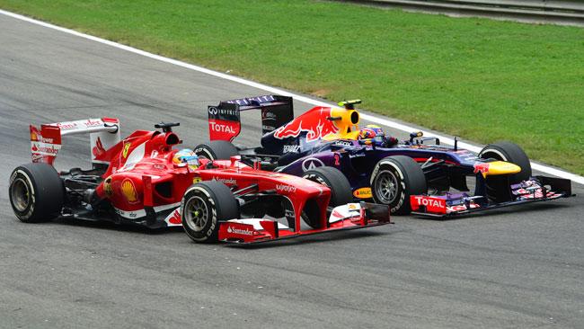 Webber contento del podio nel suo ultimo Gp a Monza