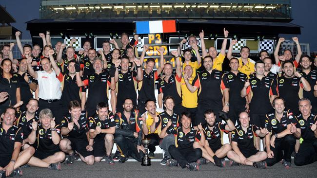La Lotus credeva di avere la tattica vincente!