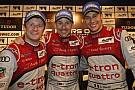 McNish, Kristensen e Duval campioni del mondo 2013