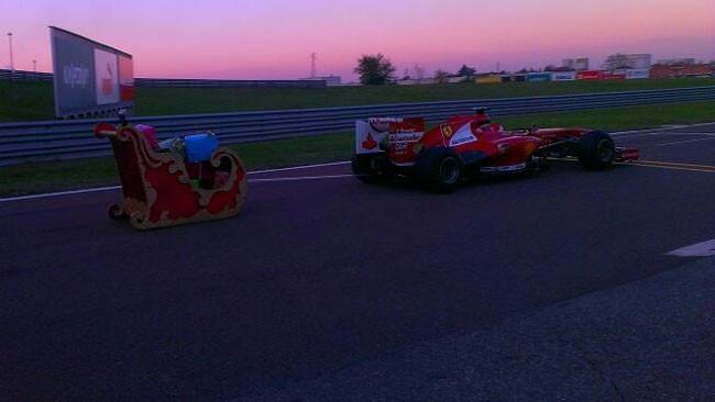 Anche Gené debutta sulla F138 per... Natale