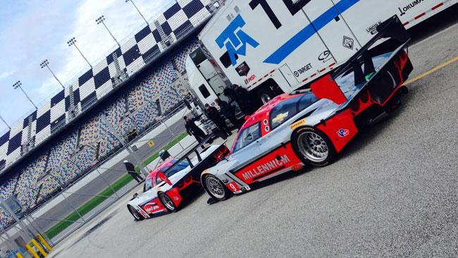 Daytona, Day 1: Corvette DP in grande spolvero
