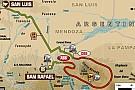 Dakar 2014: il percorso della seconda tappa