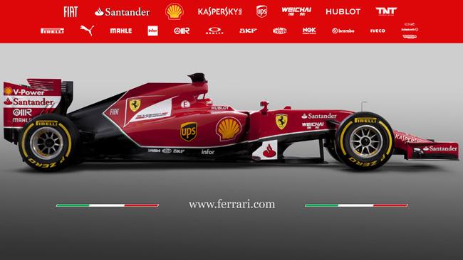 Ferrari F14 T: la sospensione anteriore resta pull