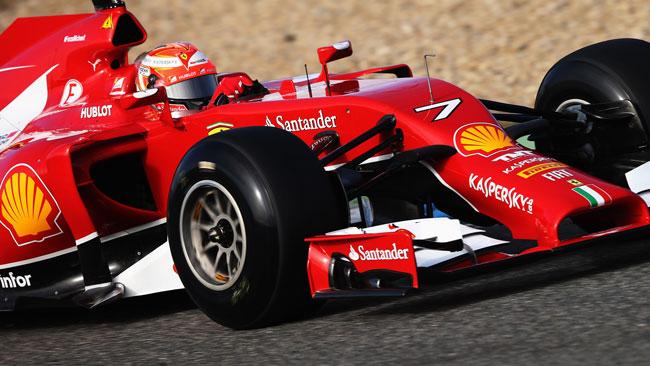 Test Jerez, Day 1, Ore 15: Kimi si avvicina a Hamilton