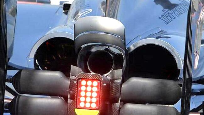 McLaren: due nolder intorno agli sforghi di aria calda