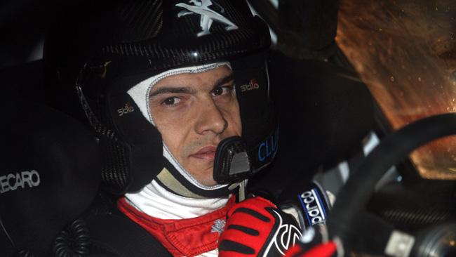 Bruno Magalhães torna in azione grazie alla Peugeot