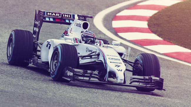 La Williams svela la colorazione Martini della FW36