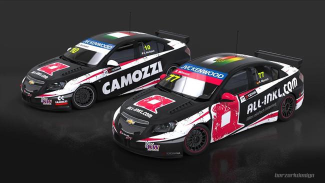 Una Cruze della Münnich Motorsport per Morbidelli