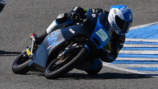 Jerez, Day 1: Romano Fenati guida l'armata KTM