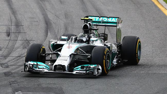 Rosberg e la Mercedes dominano il Gp d'Australia