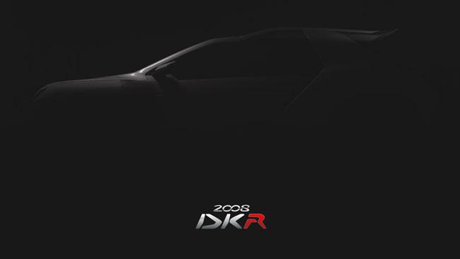 Per ora c'è solo la sagoma della Peugeot 2008 DKR