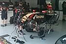 Maldonado cambia il turbo e non gira