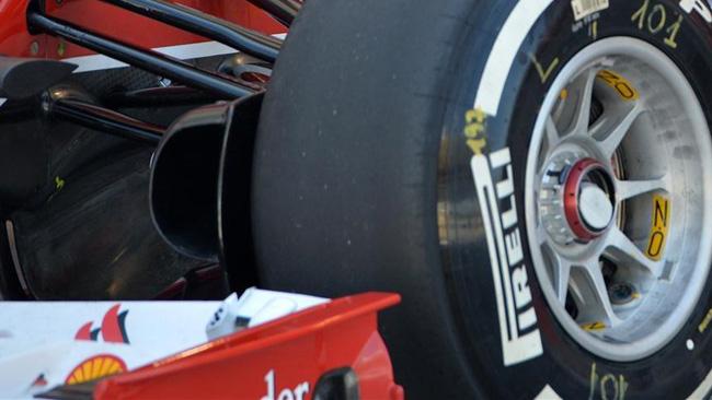 La Ferrari con il portamozzo anteriore forato