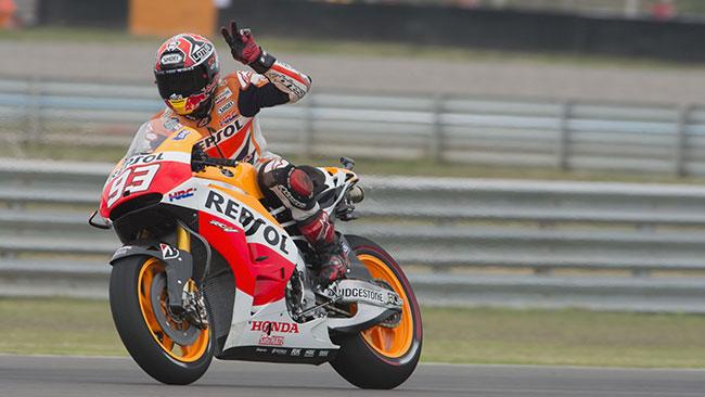 Argentina, Q2: tris di pole di Marquez, ma Lorenzo c'è
