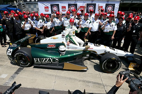 Ed Carpenter di nuovo in pole alla Indianapolis 500