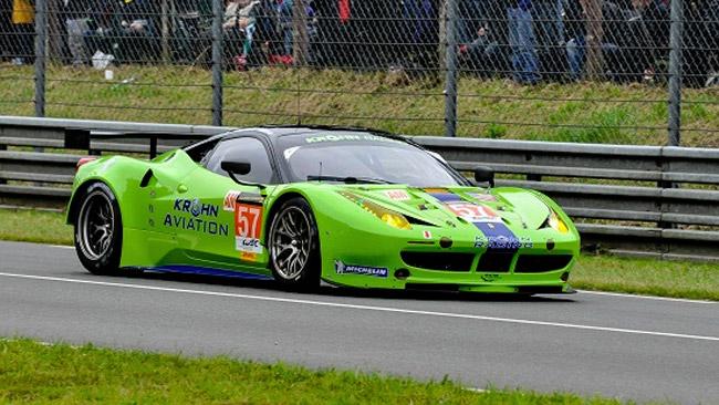 La Strakka rinuncia, al suo posto la Ferrari di Krohn