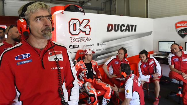 Dall'Igna spera che Dovizioso rimanga in Ducati