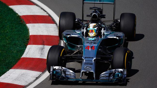Montreal, Libere 2: Hamilton regola Rosberg