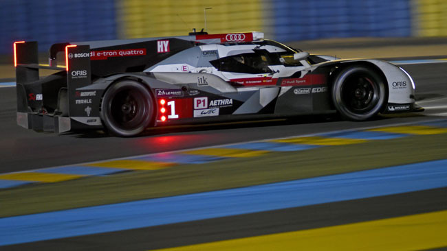 Le Mans, 18° Ora: Audi velocissime sotto un bel sole