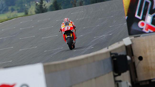 Sachsenring, Warm-Up: Marquez davanti a Lorenzo