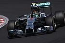 Rosberg in pole in Ungheria, mentre brucia Hamilton
