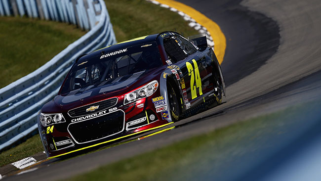 Prima pole del 2014 per Jeff Gordon a Watkins Glen