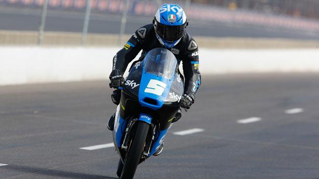 Miglior qualifica del 2014 per lo Sky Racing Team