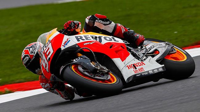 Silverstone, Q2: decima pole stagionale per Marquez!