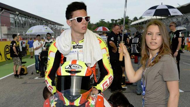 Caricasulo in Moto2 a Misano con il Team JiR