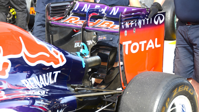 Red Bull ha montato il doppio monkey seat
