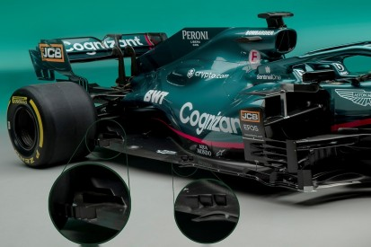 Formel-1-Technik: Die Neuerungen am Aston Martin AMR21