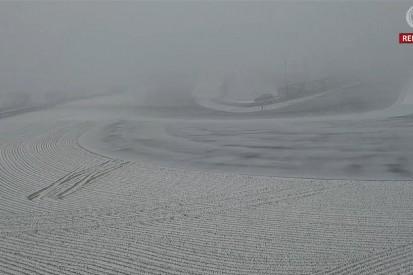 NLS1 abgesagt: VLN machtlos gegen den Schnee