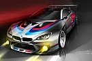La BMW lancia la M6 GT3 nella stagione 2016