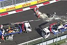 Gara sospesa in GP3 per un brutto incidente