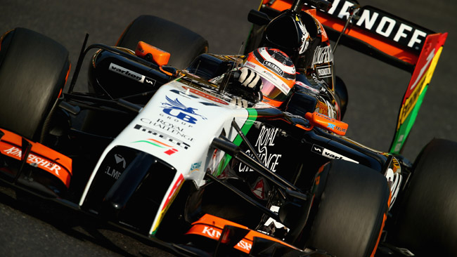 Hulkenberg ha rinnovato con la Force India per il 2015