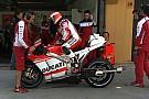 La Ducati verifica la torsione del forcellone
