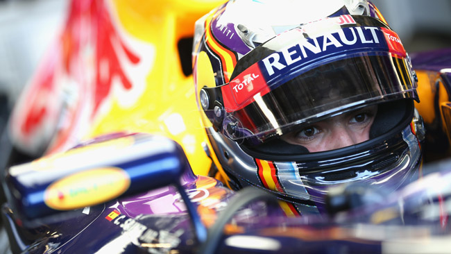 Carlos Sainz Jr sulla Red Bull nei test di Abu Dhabi